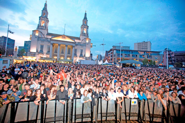 Millennium Square Leeds United Kingdom