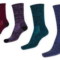 Kirkland Signature Womens Trail Sock Pack of 4 One Size Cerise