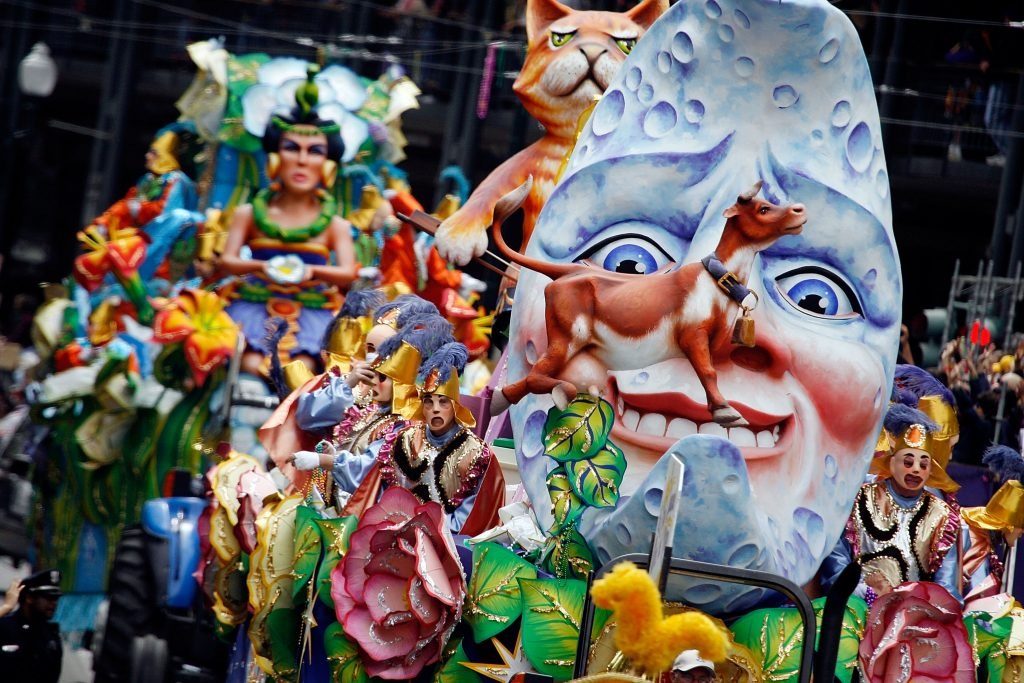 Mardi Gras Attractions