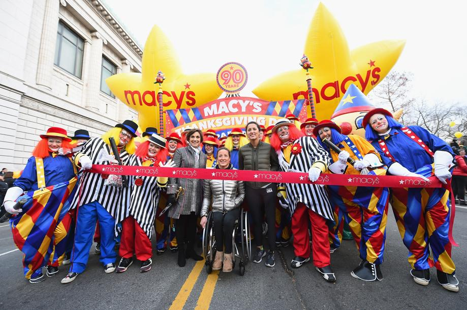 Macy's Thanksgiving Day Parade.Athlets