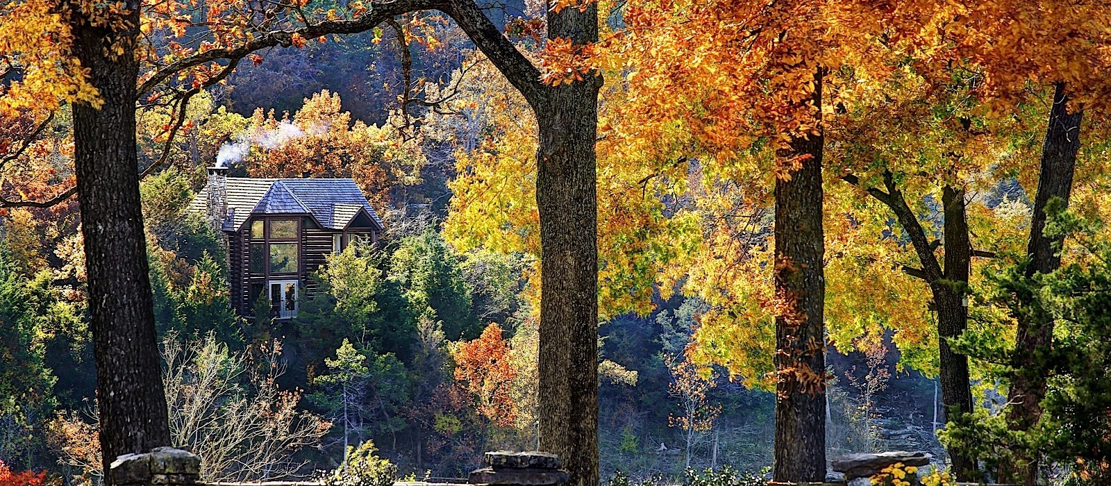 big cedar lodge fall