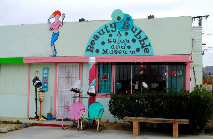 joshua tree beauty bubble salon and museum